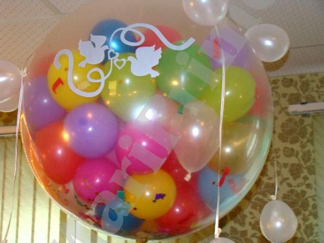 Как сделать шар с шарами внутри